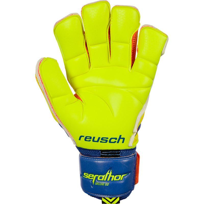 Reusch Serathor Deluxe G2 Dazzling azul   Safety Safety Safety Yellow   Safety Yellow Reusch 4682d0