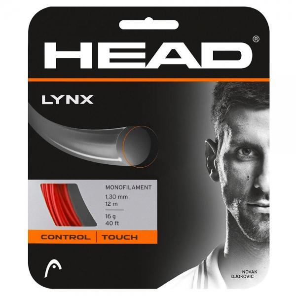 Head Racket Cordage Unité Tennis Lynx 12 M 1.25 mm Red