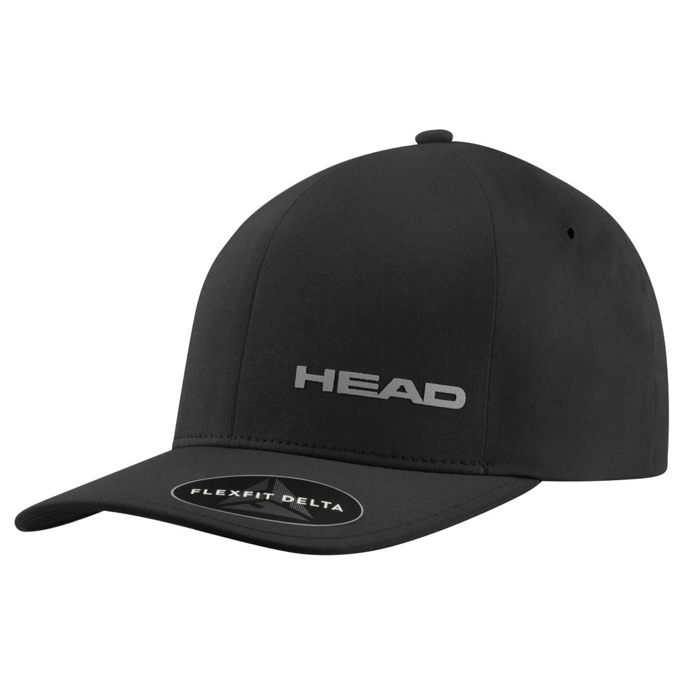 Head Racket Delta Flexfit L-XL Black