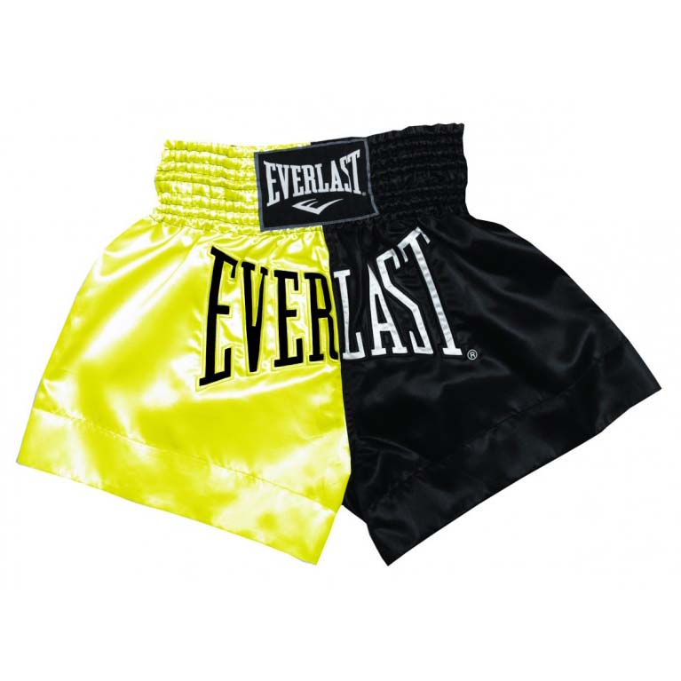 Everlast Equipment Thai Boxing Short XL Gold / Black