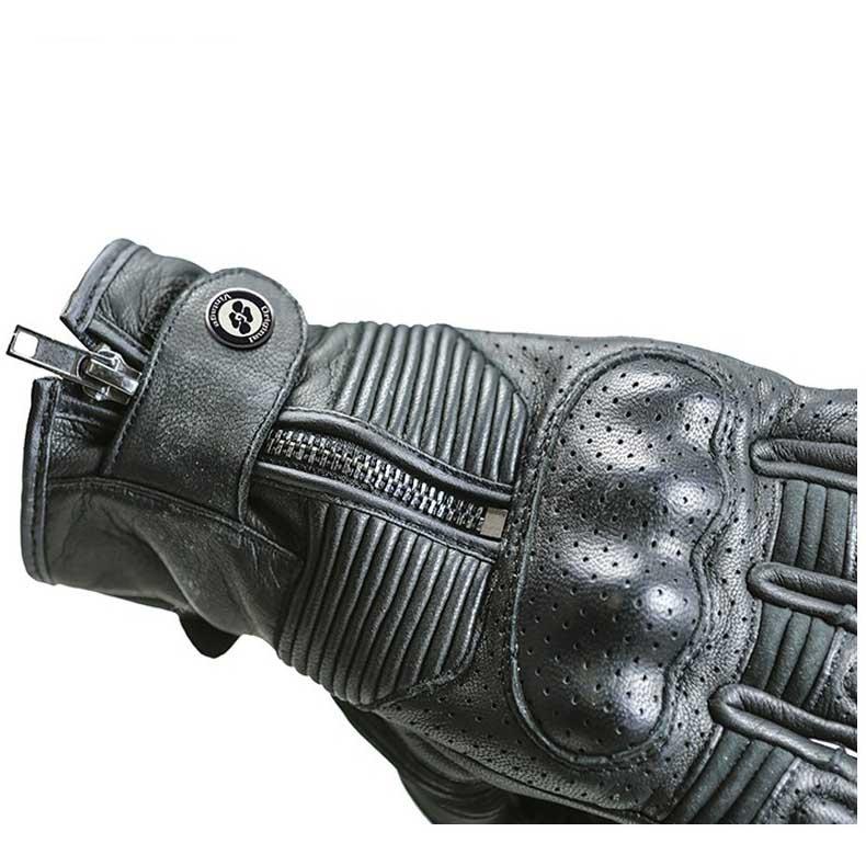 Garibaldi-Smoke-Vintage-Black-Guanti-Garibaldi-motociclismo-Protezioni