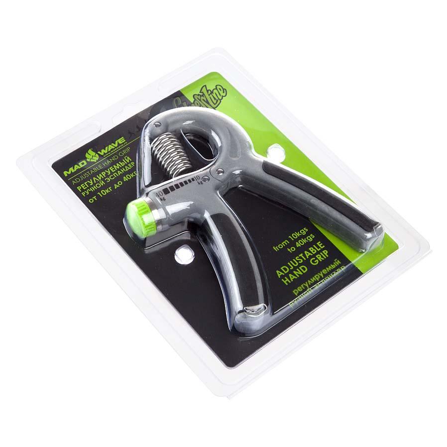 Madwave Hand Grips 40 Adjustable Grey / Black , , Aquagym Madwave , Black natation d64873