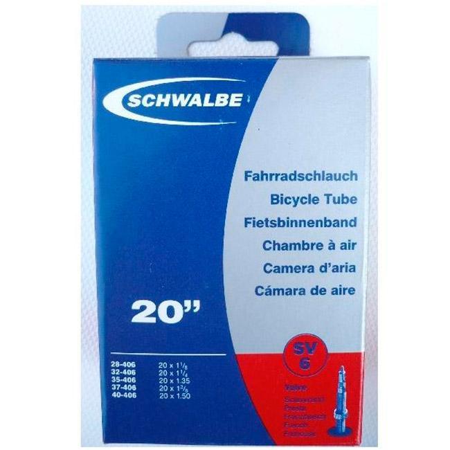 Schwalbe Presta 40 Mm 20 x 1.125-1.50 Black