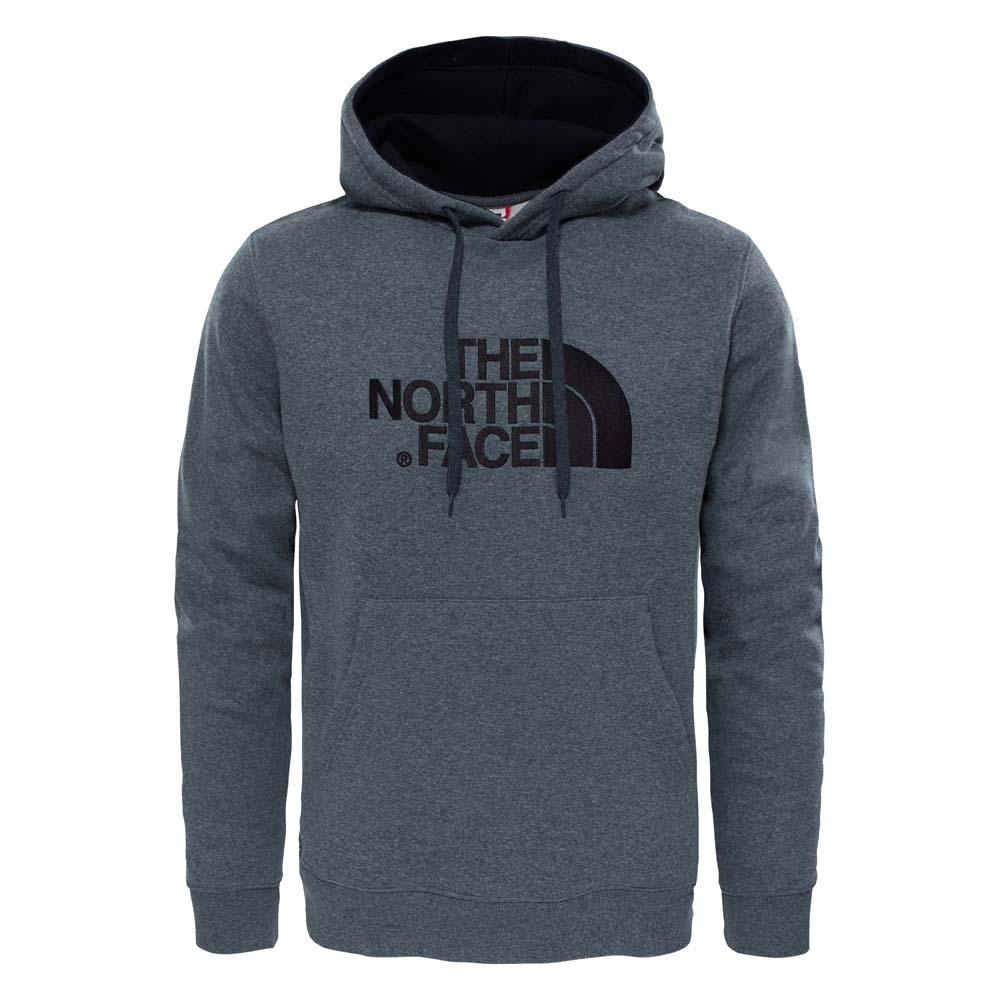 The North Face Sweat À Capuche Drew Peak S TNF Medium Grey Heather / TNF Black