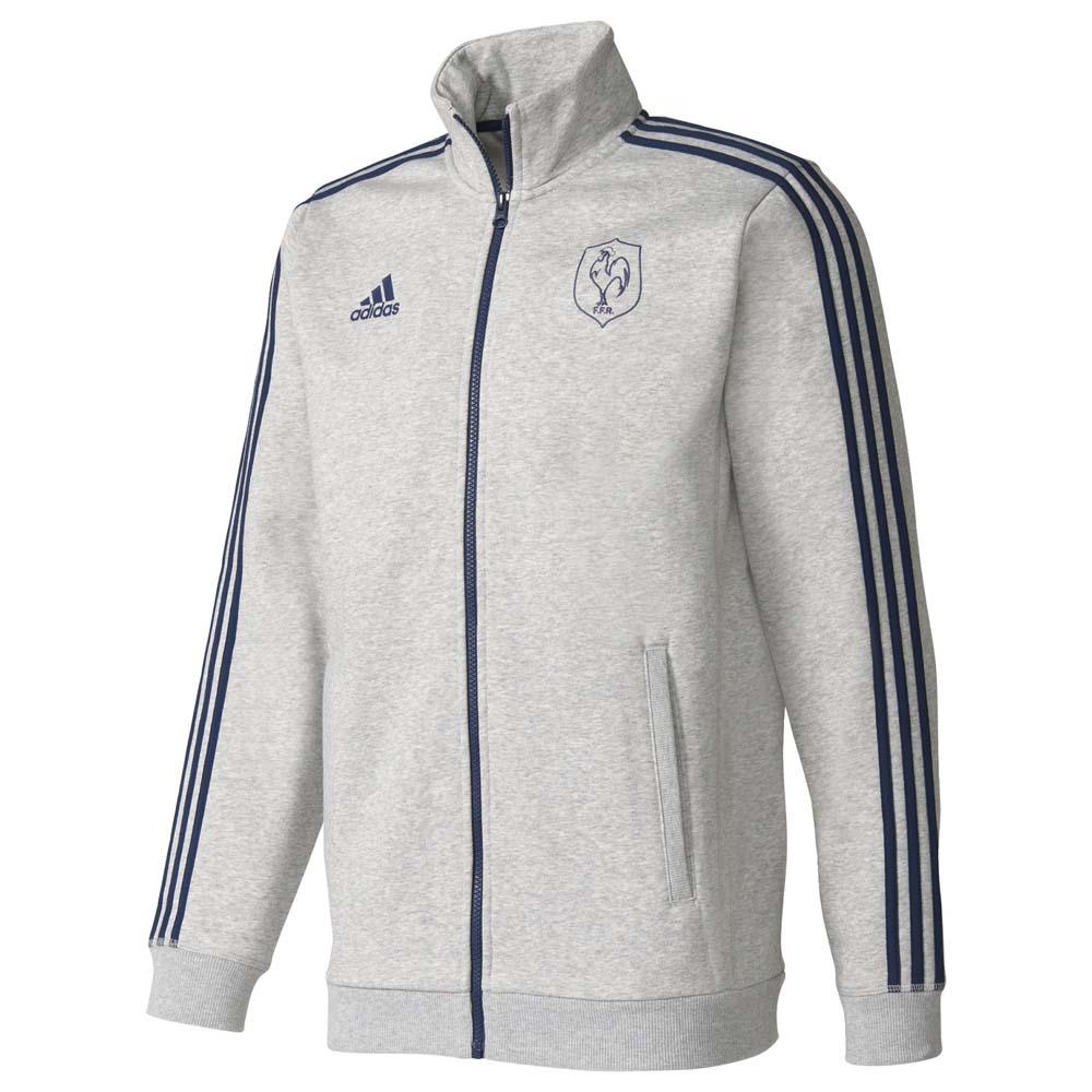 Adidas France Essentials Track 16/17 XS Medium Grey Heather / Collegiate Navy