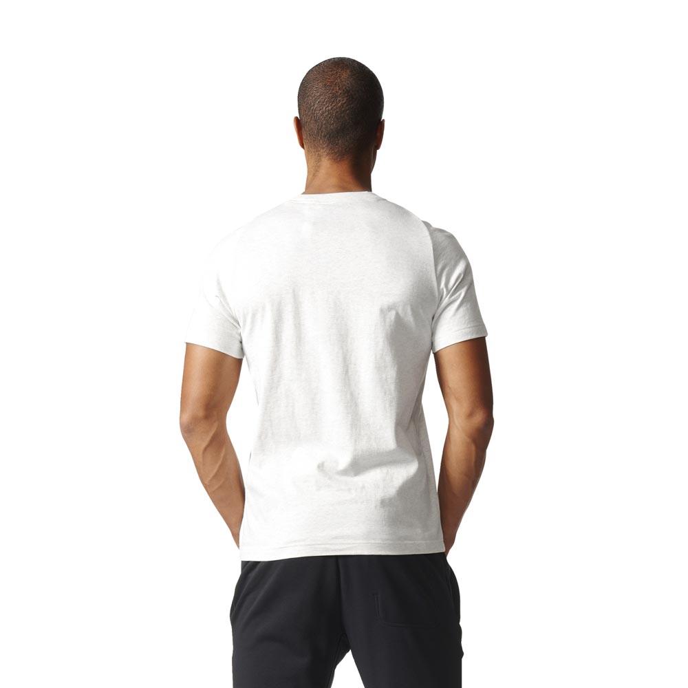 afd32e9992c91 Adidas-Essentials-Base-White-Melange-Black-T-Shirts-