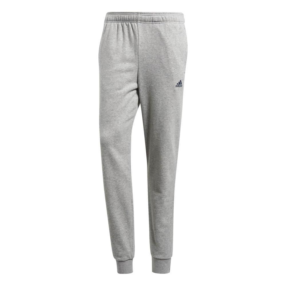 Adidas Essentials Tapered French Terry Pants XL-S Medium Grey Heather / Collegiate Navy