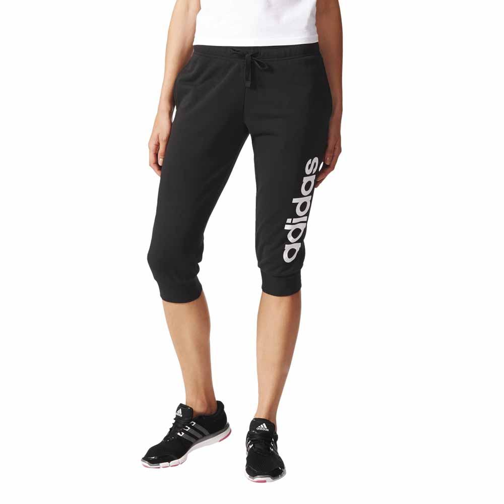 Adidas-Essentials-Linear-Pirate-Pants-Black-White-Pantaloni-adidas-fitness