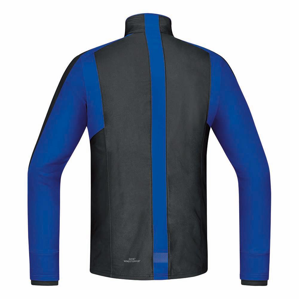Black Long Air Blue Vestes Running Brilliant Gore Windstopper xqF1IPwz