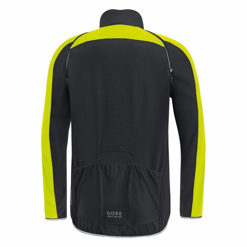 Gore-Bike-Wear-Phantom-Plus-Gore-Windstopper-Zip-Off-Nero-Male-M