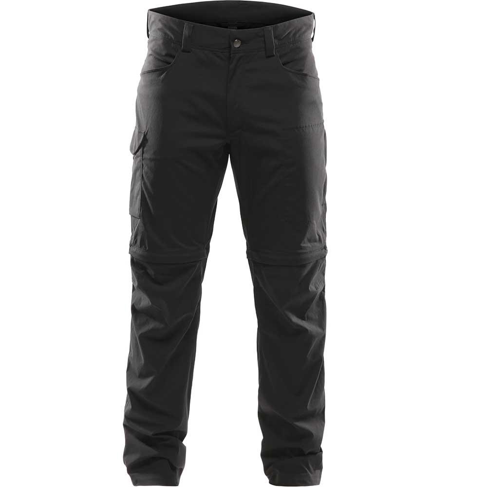 Haglofs Zip Off Pants XL True Black