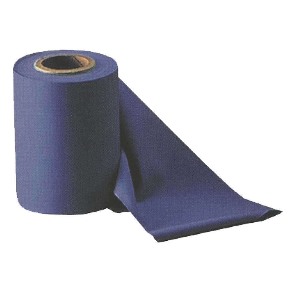 Atipick Latex Exercise Band Roll 15 M 15 cm x 0.65 mm Blue