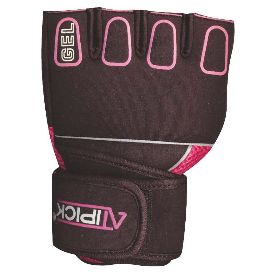 Atipick Boxing Gloves With Gel L Pink
