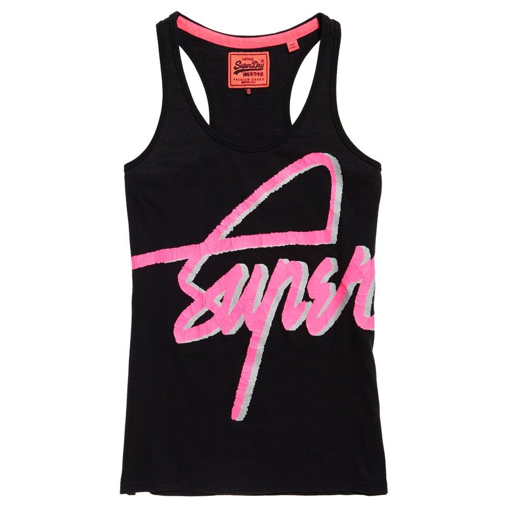 Superdry Superdry Superdry Super Crew 3d Vest Black , T-Shirts Superdry , mode , Vêtements femme 946188