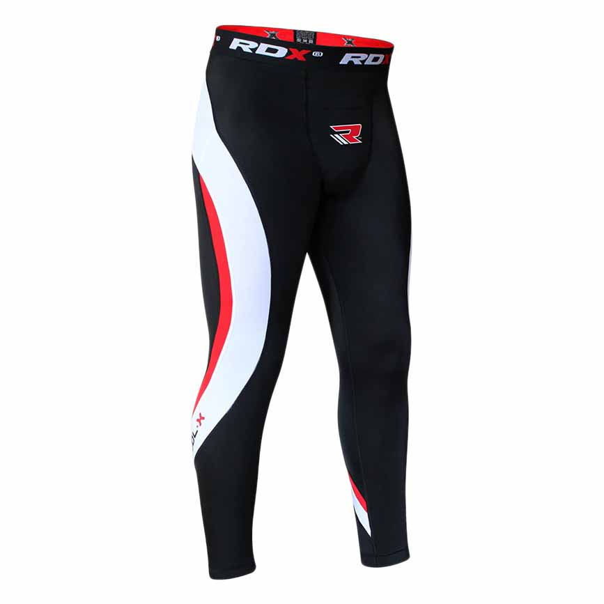 Rdx Sports Legging Clothing Compression Trouser Multi New M Black