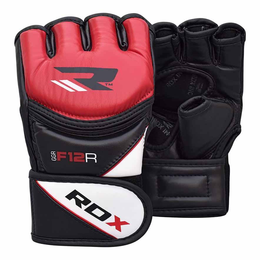 Rdx Sports Gants Combat Grappling New Model Ggrf L Red