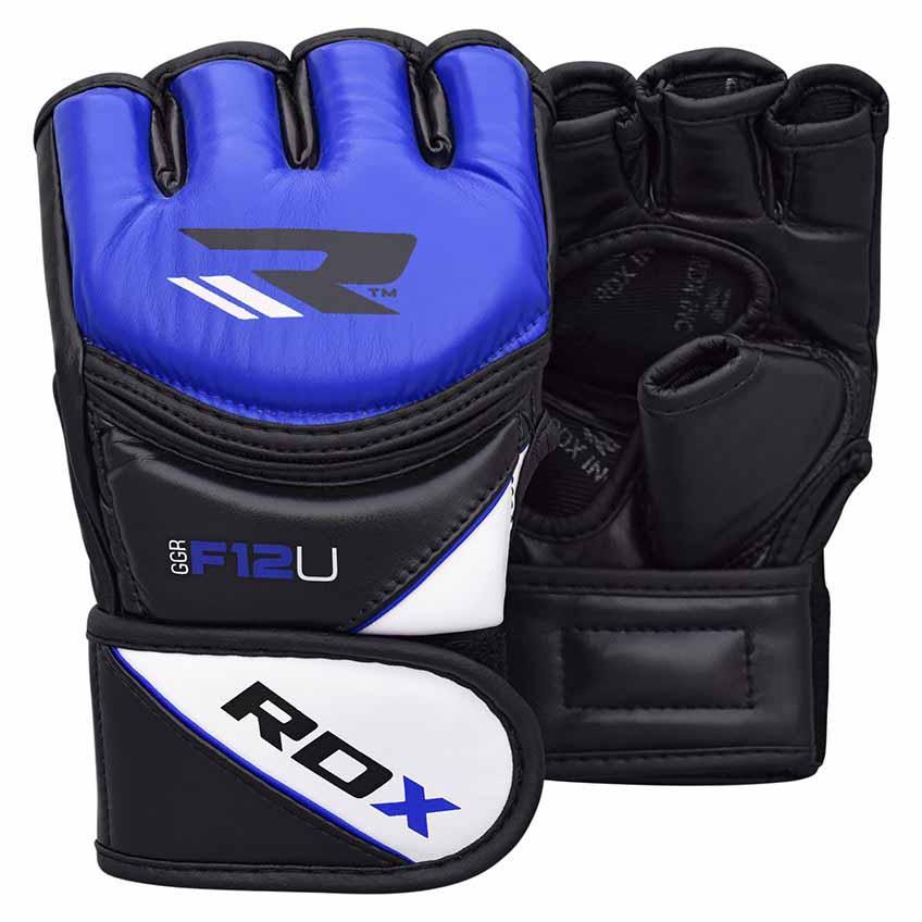 Rdx Sports Grappling Glove New Model Ggrf L Blue