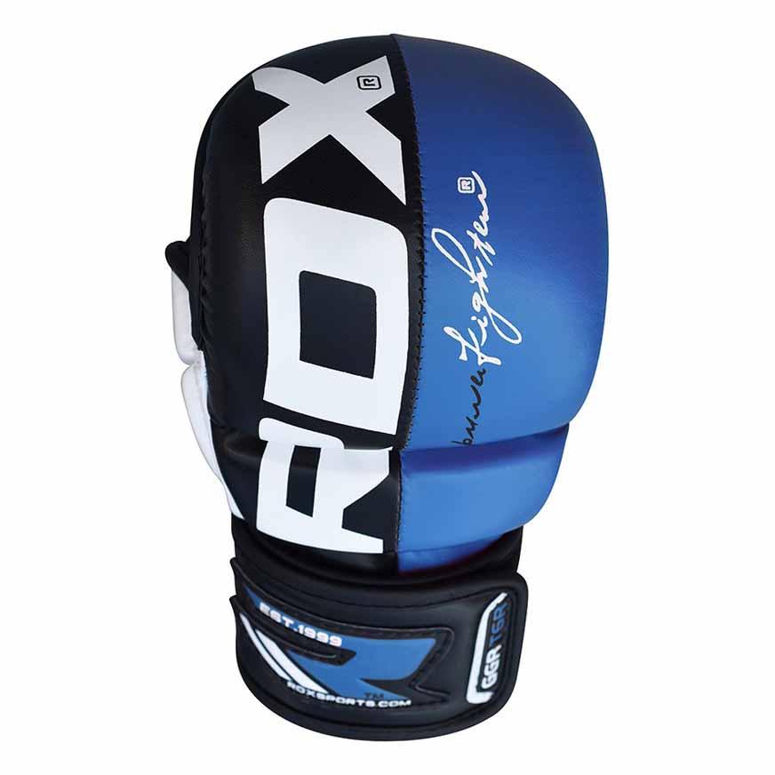 Rdx Sports Grappling Glove Rex T6 L Blue