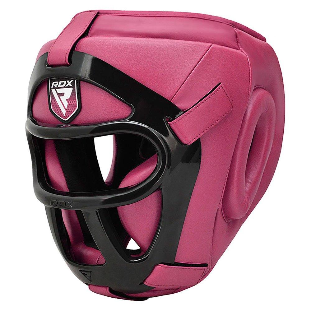 Rdx Sports Head Guard Hgx T1 Grill L Pink