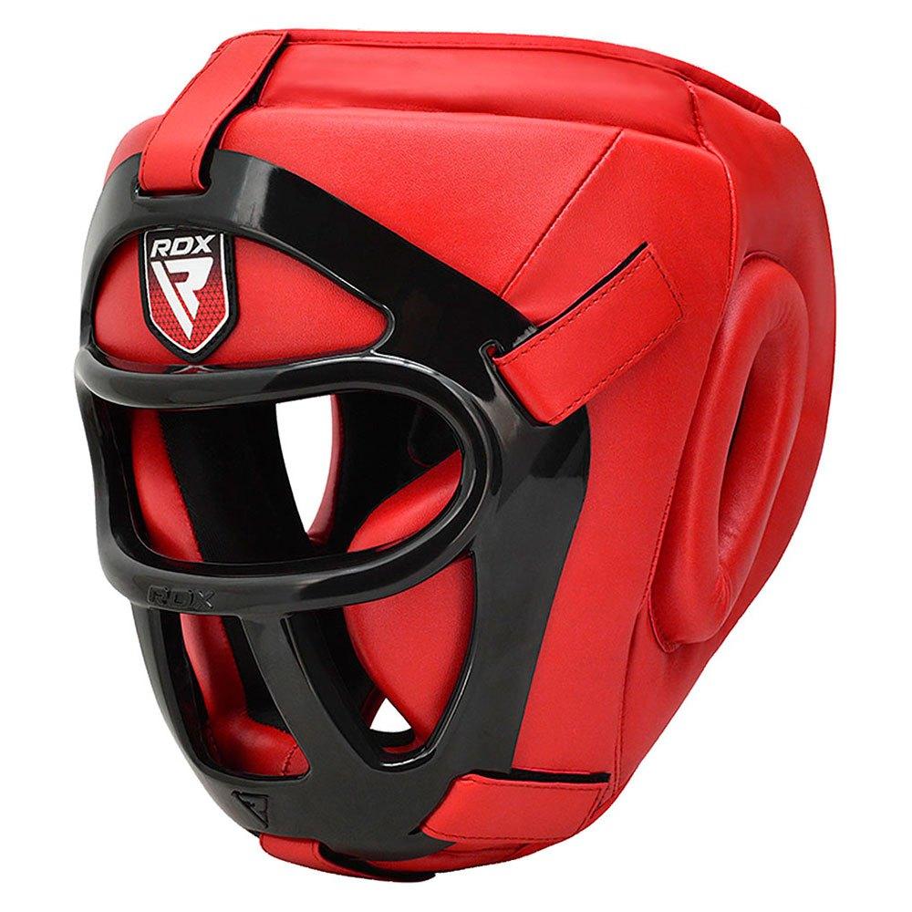 Rdx Sports Head Guard Hgx T1 Grill L Red