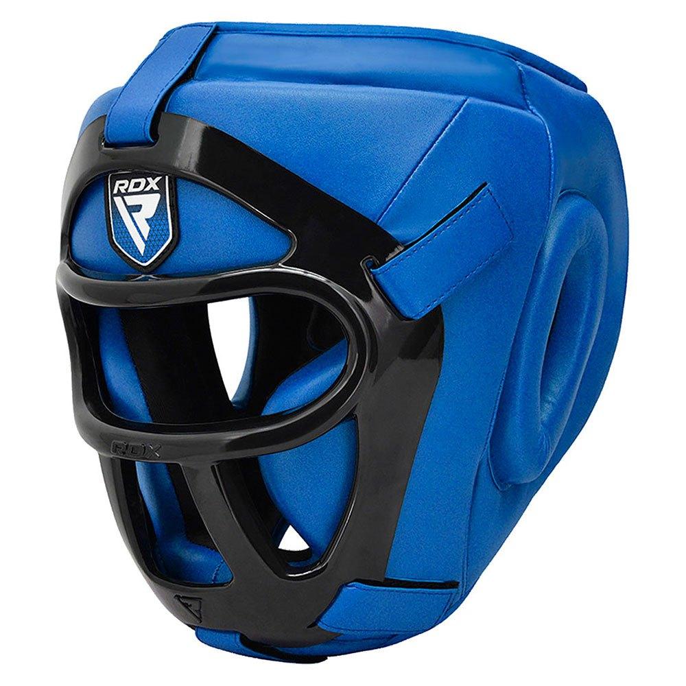 Rdx Sports Head Guard Hgx T1 Grill L Blue