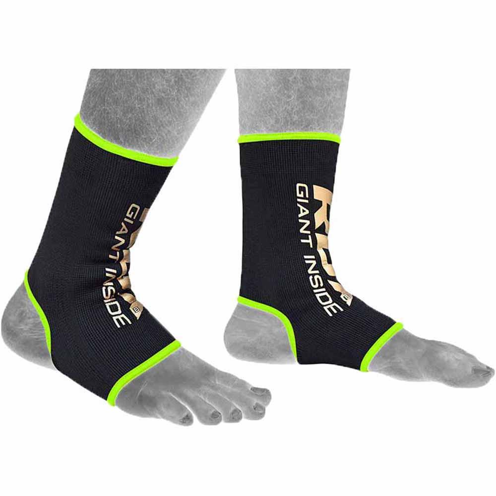 Rdx Sports Hosiery Anklet L Black / Gold