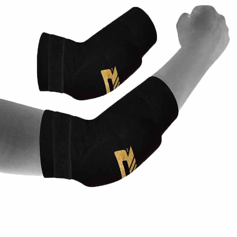 Rdx Sports Hosiery Elbow Foam L Black / Golden