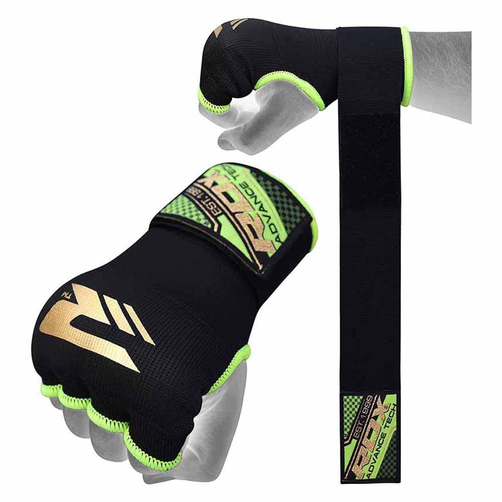 Rdx Sports Hosiery Inner Strap L Black / Green