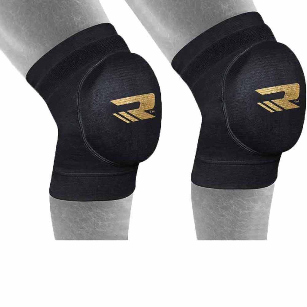 Rdx Sports Hosiery Knee Foam L Black / Gold