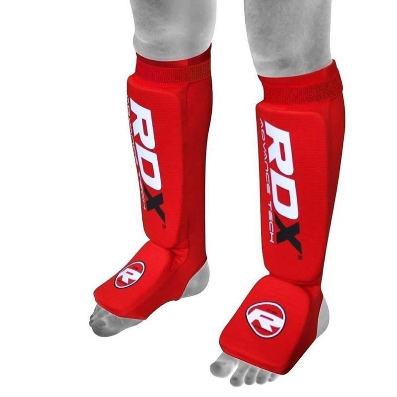 Rdx Sports Hosiery Shin Instep Foam M Red