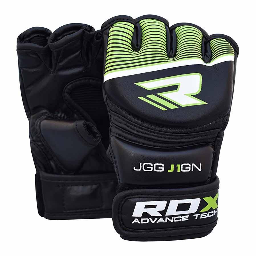 Rdx Sports Grappling Glove Kids One Size Black / Green