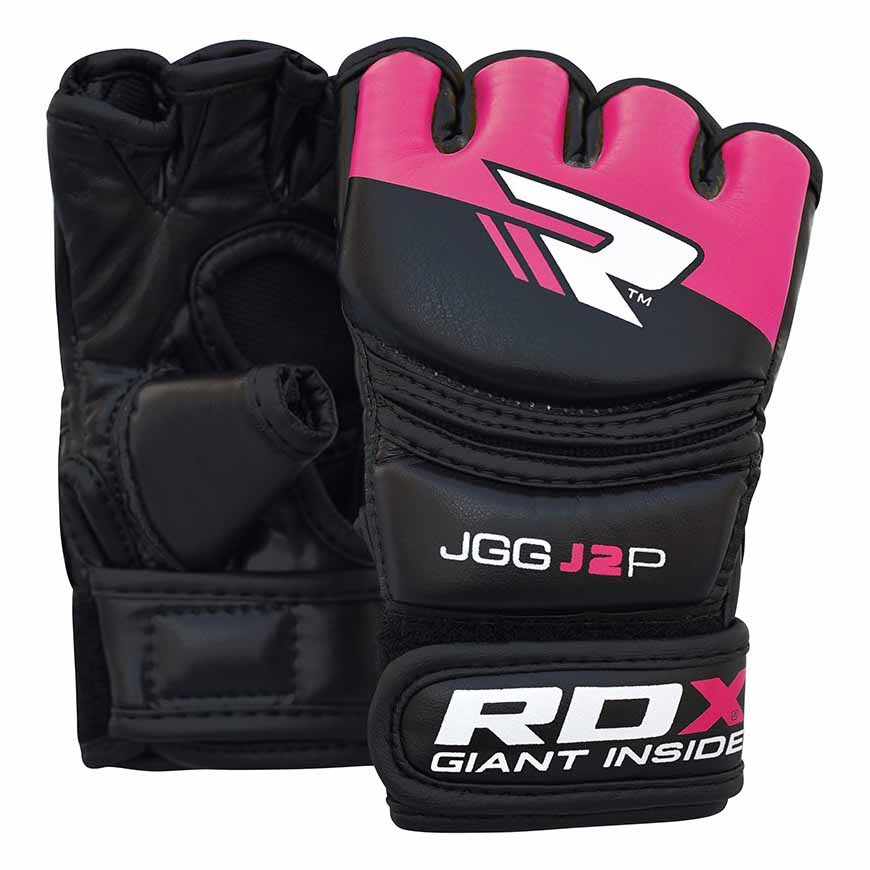 Rdx Sports Grappling Glove Kids One Size Black / Pink