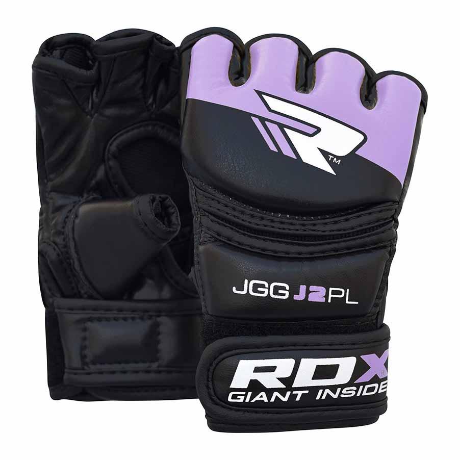 Rdx Sports Grappling Glove Kids One Size Black / Purple