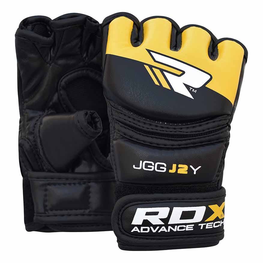 Rdx Sports Grappling Glove Kids One Size Black / Yellow