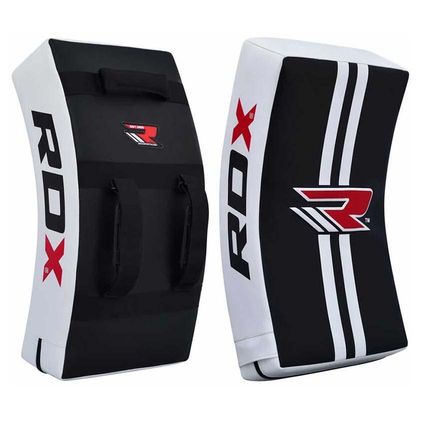 Rdx Sports Arm Pad Gel Kick Shild Heavy One Size White / Black