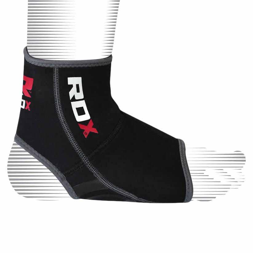 Rdx Sports Neoprene Anklet New L-XL Gray / Black