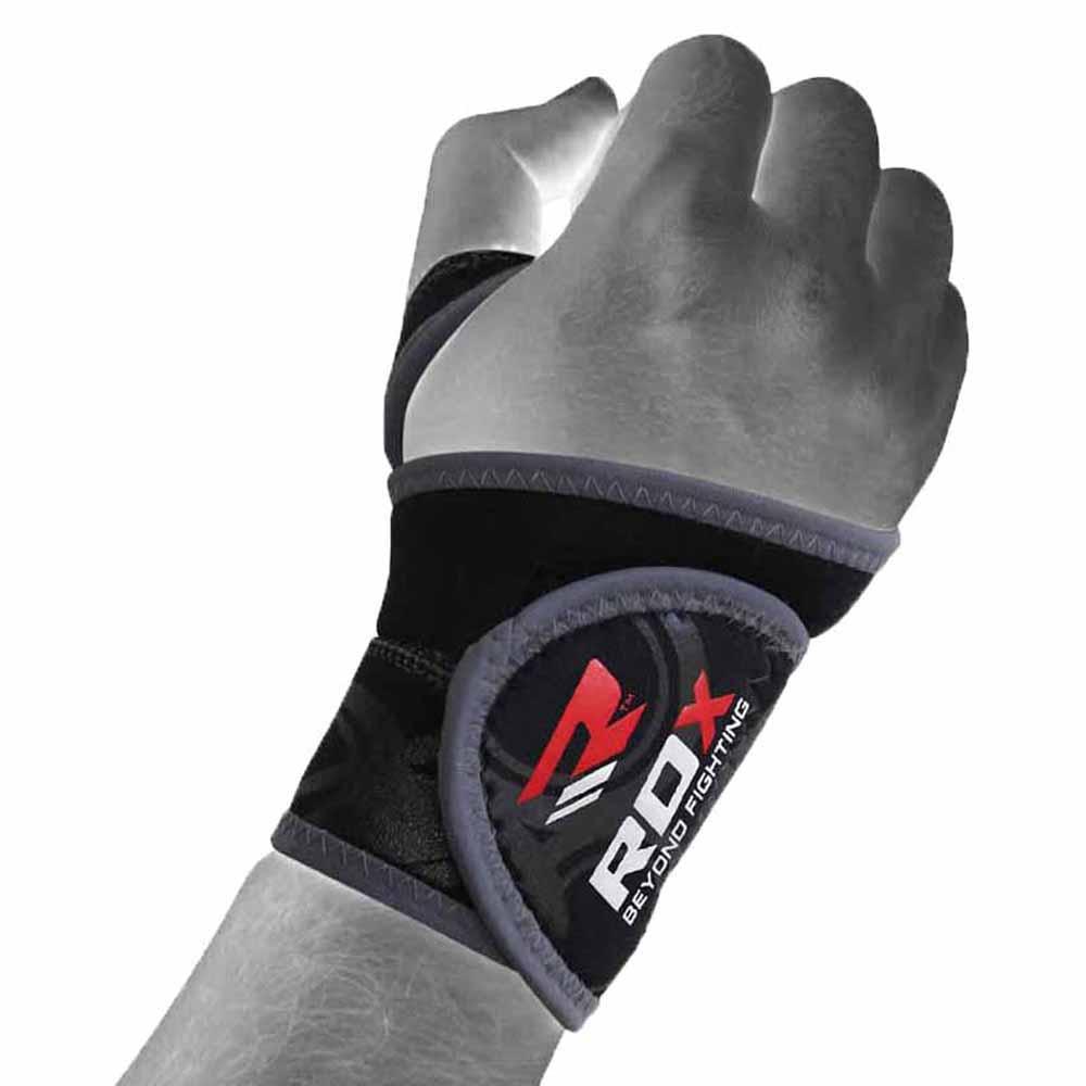 Rdx Sports Neoprene Wrist New One Size Gray / Black