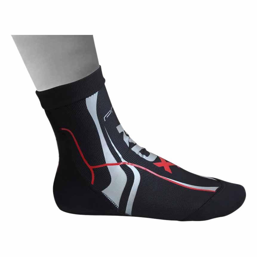 Rdx Sports Chaussettes Neoprene M Red / Black