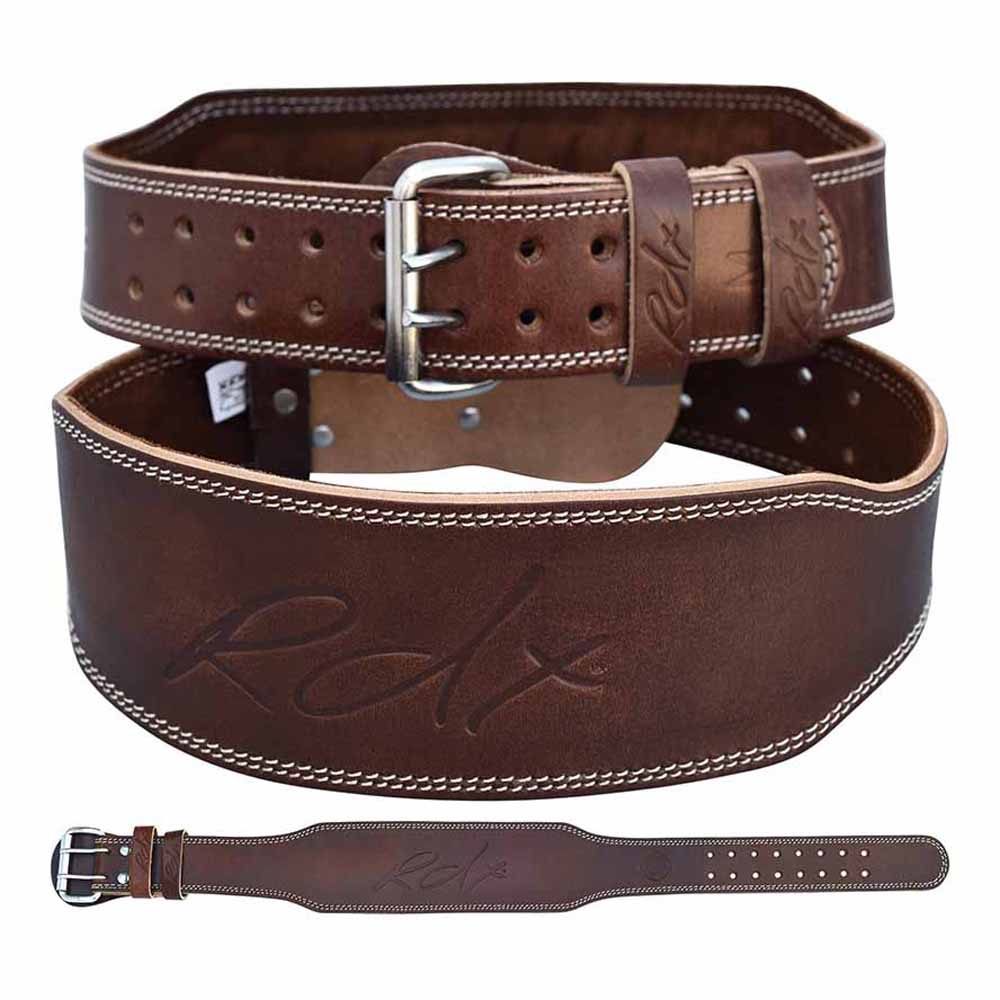 Rdx Sports Belt Leather 6´´ M Brown Padded
