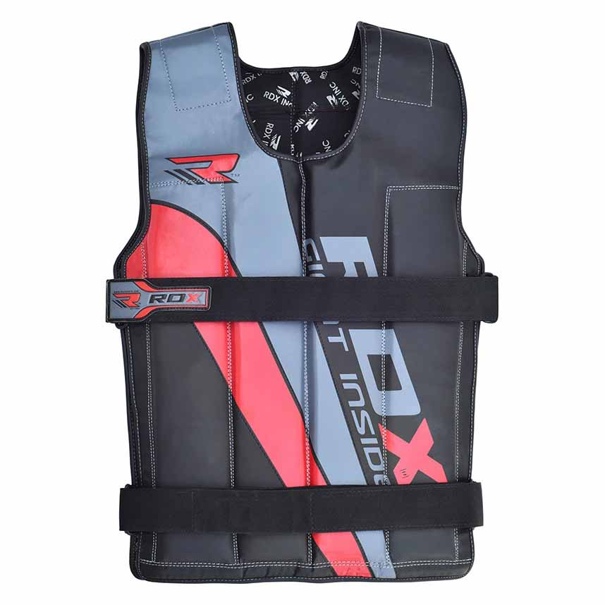 Rdx Sports Heavy Weighted Vest 18 kg Red