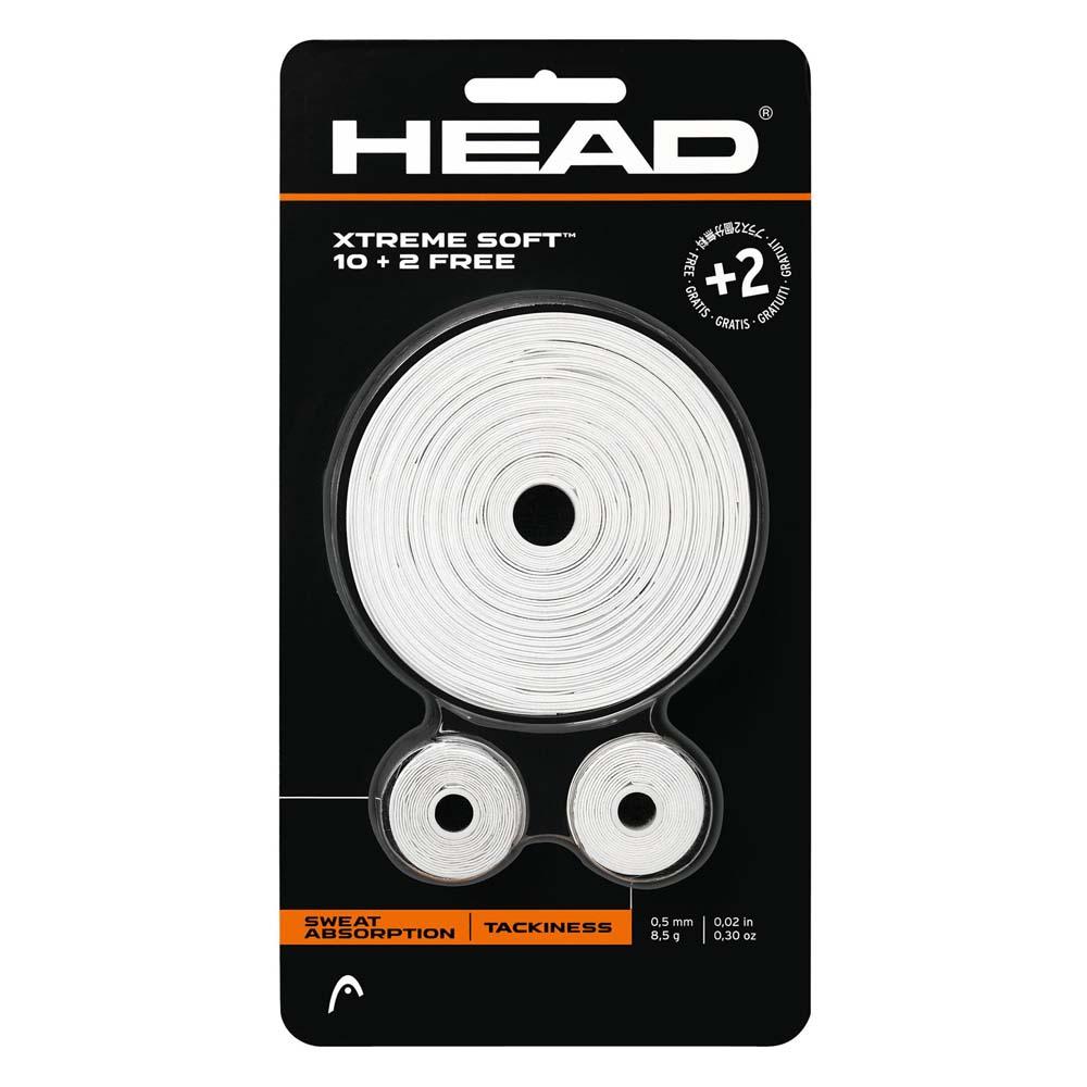Head Racket Surgrip Tennis Xtreme Soft 10+2 One Size White