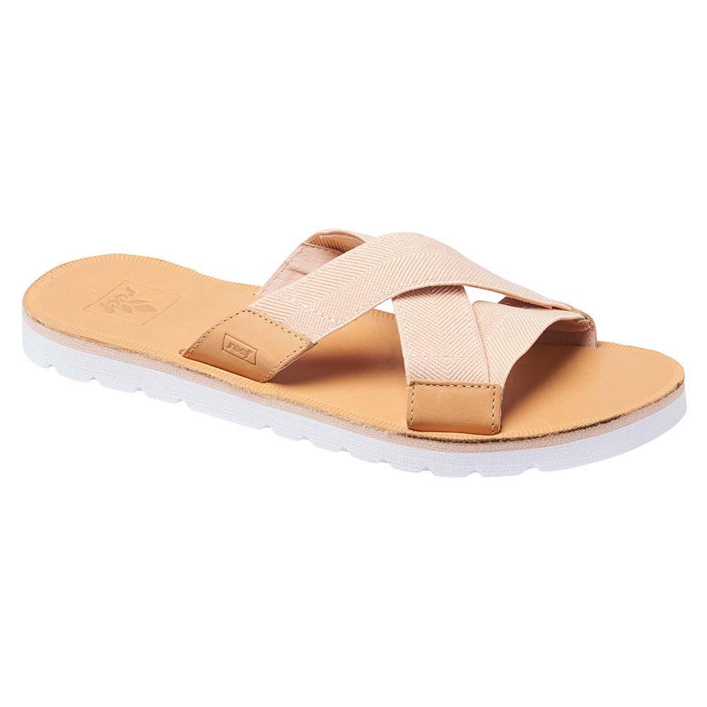 b513b7cd2c6f Reef Voyage Slide Womens Footwear Sandals - Natural All Sizes UK 7 ...
