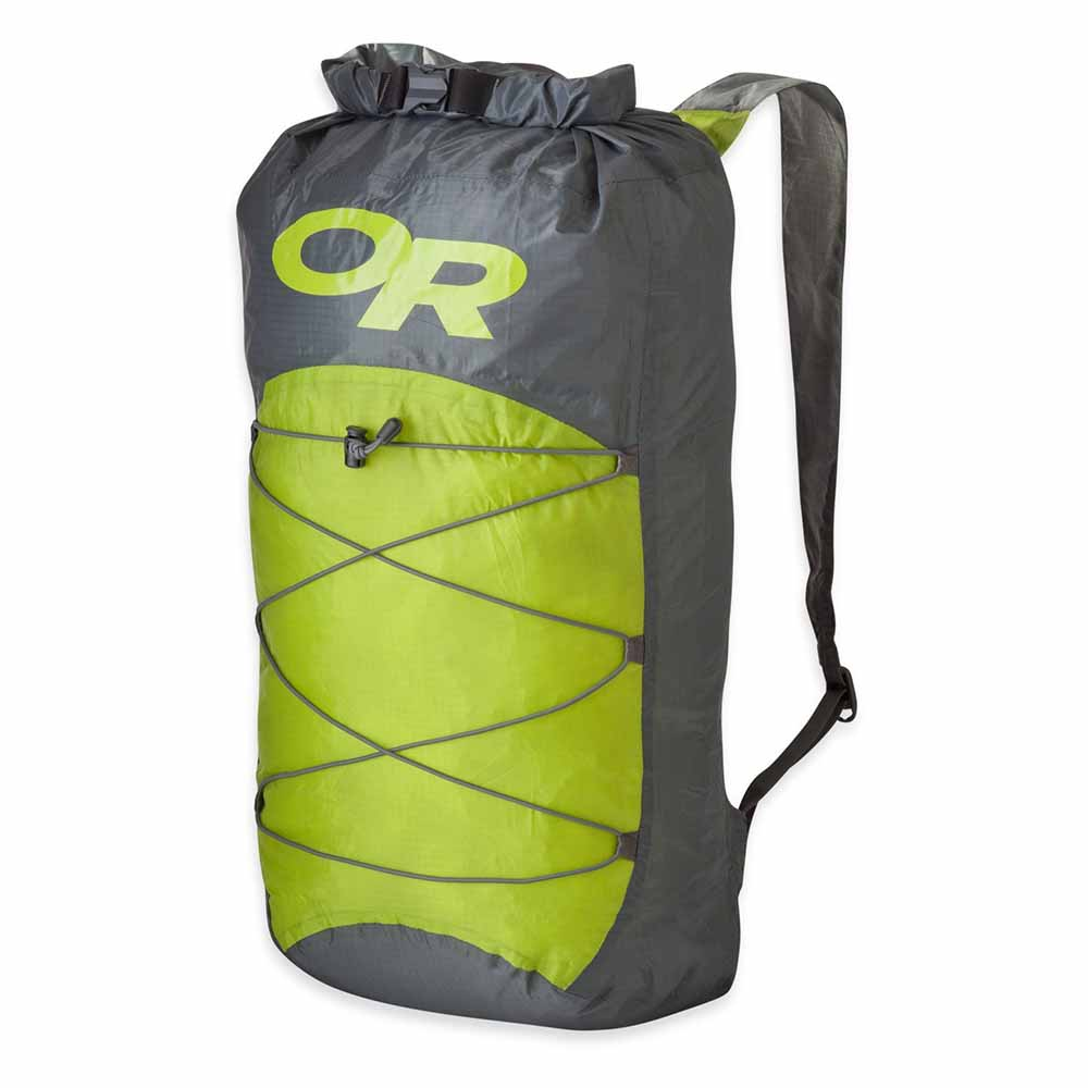 Outdoor Research Dry Isolation Pack 18l One Size Pewter/Lemongrass