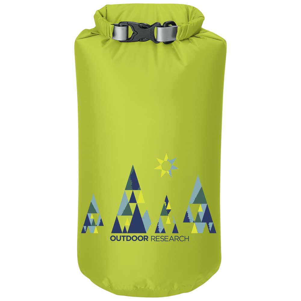 Outdoor Research Woodsy Dry Sack 10l One Size Lemongrass