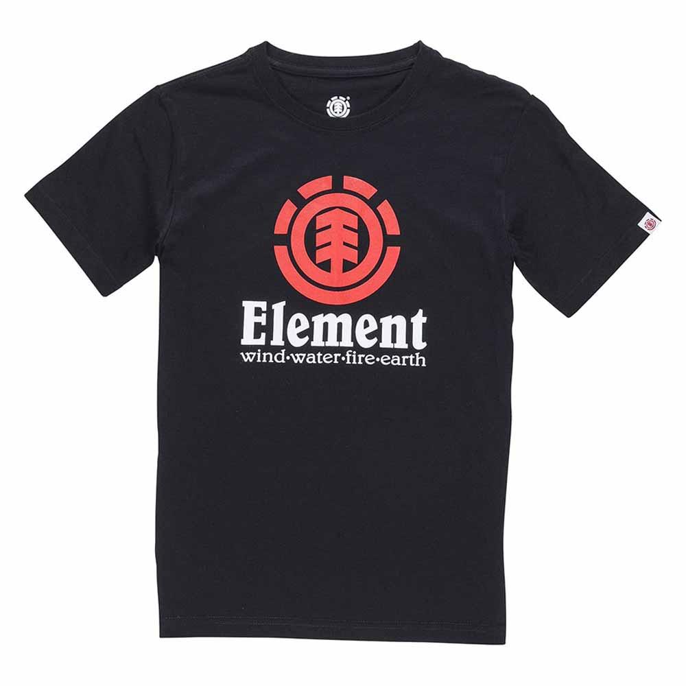 Element-Vertical-Ss-Negro-Camisetas-Element-deportes-Ropa-hombre