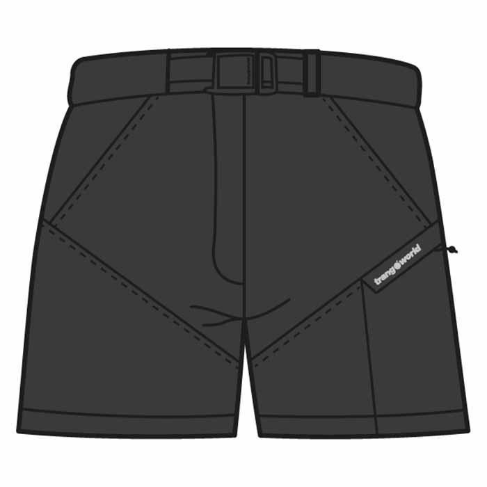 Trangoworld Yittu Pants Short S Black
