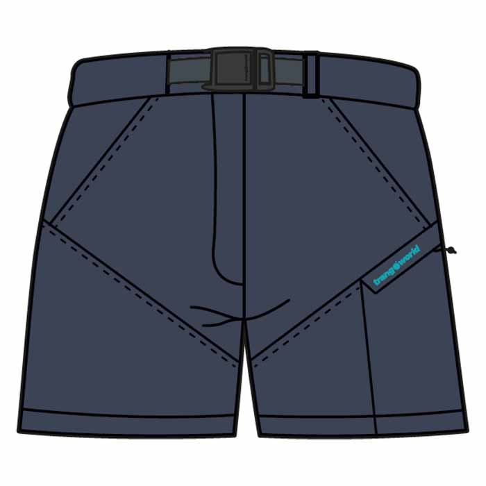 Trangoworld Yittu Pants Short XL Insigna Blue