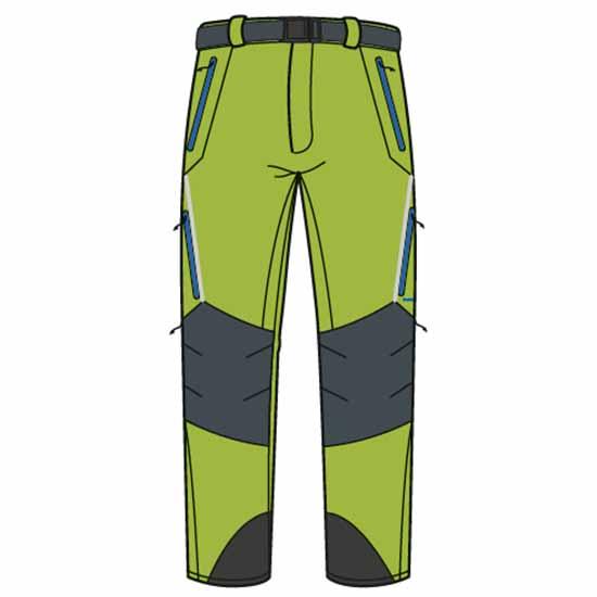 Trangoworld Prote Fi Regular XXL Macaw Green / Anthracite