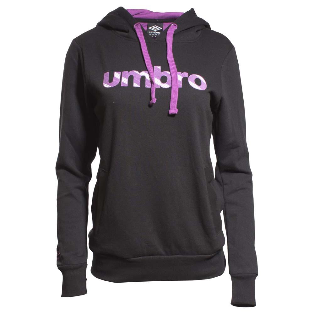 Umbro Sweat À Capuche Logo S Black / Black / Black