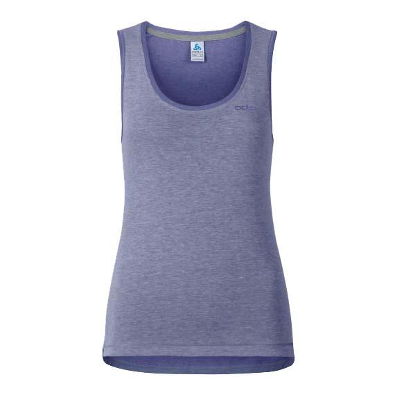 Odlo T-shirt Sans Manches Alloy XS Spectrum Blue Melange